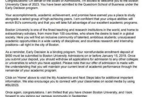 美国波士顿大学