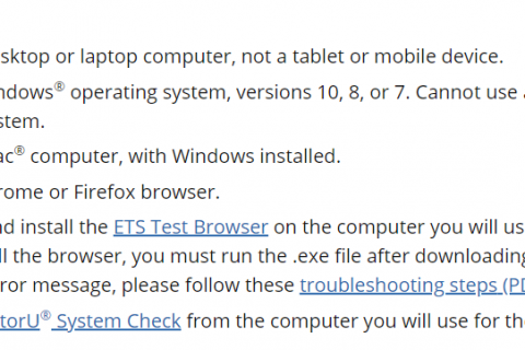 ETS更新【在家考托福条件】!